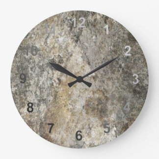 Rock Face Wall Clocks
