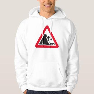 Rock fall lobster hoodie