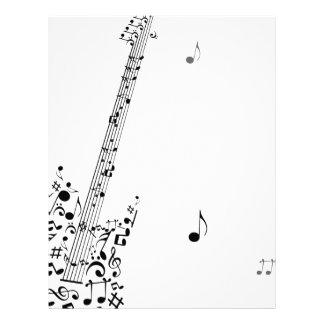 Rock festival letterhead
