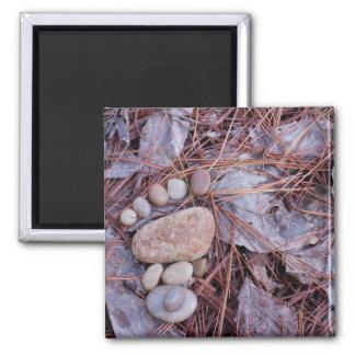 Rock Footprint Magnet