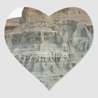 Rock Formation Heart Sticker