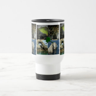 Rock Formations and Caves in Alaska Collage Stainless Steel Travel Mug