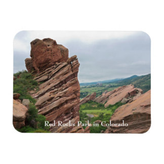Rock Formations and Ranges Surrounding Red Rocks Magnet