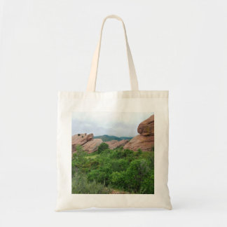 Rock Formations and Ranges Surrounding Red Rocks Tote Bag