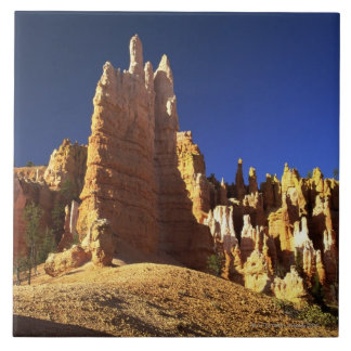 Rock formations in Bryce canyon Tile