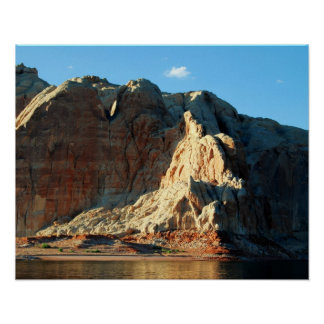 Rock Formations on Lake Powell in Arizona Poster