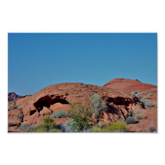 Rock Formations Valley of Fire Poster