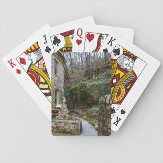 Rock Garden Patio Playing Cards