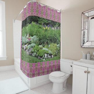 Rock Garden Pink Dianthus Lupine Silver Mound