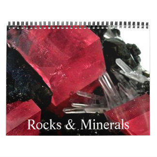 Rock & Gem Collection Wall Calendars