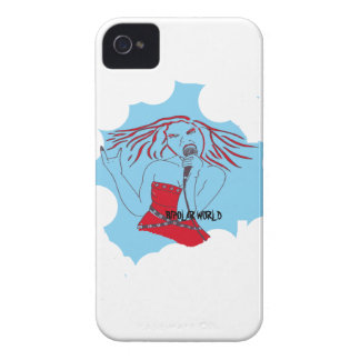 rock girl iPhone 4 covers