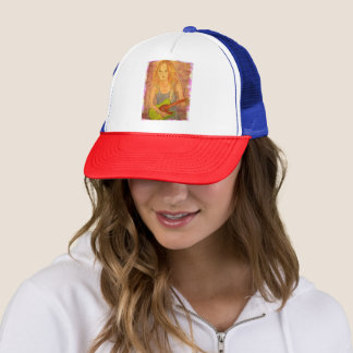 Rock Girl Trucker Hat