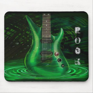 Rock Guitar Mouse Pad