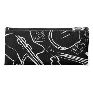 Rock guitar pencil case