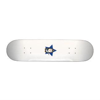 Rock Guitar Penguin Skate Boards