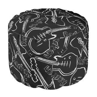 Rock guitar pouf