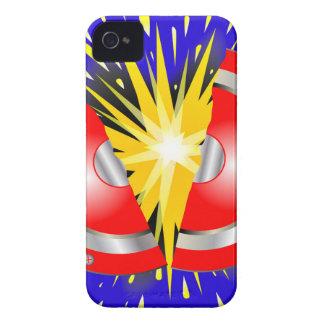 Rock Guitar Speaker Explosion iPhone 4 Case