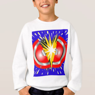 Rock Guitar Speaker Explosion Sweatshirt