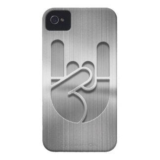 Rock Hand Steel Case-Mate iPhone 4 Cases