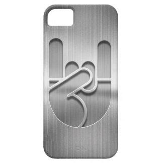 Rock Hand Steel iPhone 5 Cover