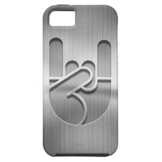 Rock Hand Steel iPhone 5 Covers