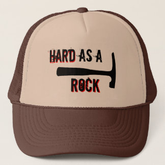 Rock Hard Head Trucker Hat
