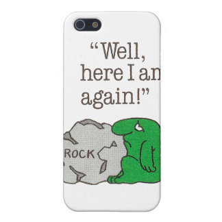 Rock Hard Place iPhone 5 Cases