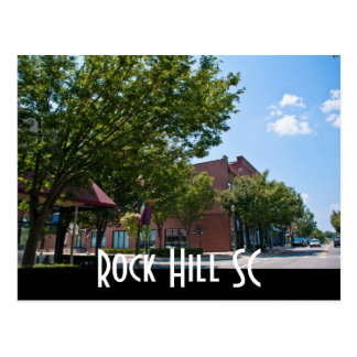 Rock Hill SC Postcard