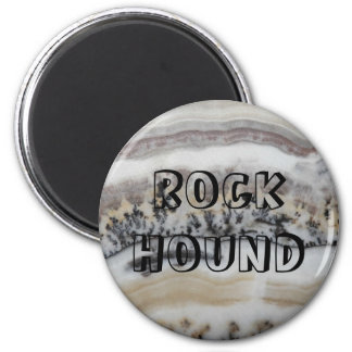 Rock Hound Dendritic Agate Pattern Magnet