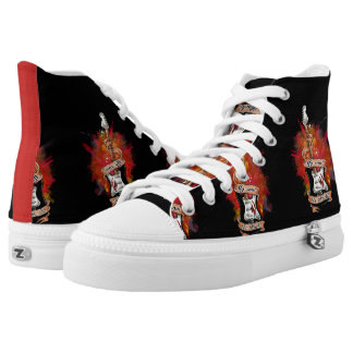 Rock is life high tops