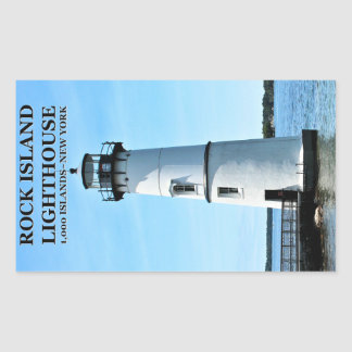 Rock Island Lighthouse, New York Stickers