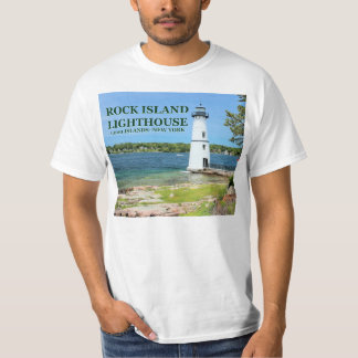 Rock Island Lighthouse, New York T-Shirt