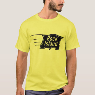 Rock Island Railroad Speed Logo T-Shirt
