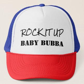 Rock It Up Baby Bubba Hip Hop Old School Hat