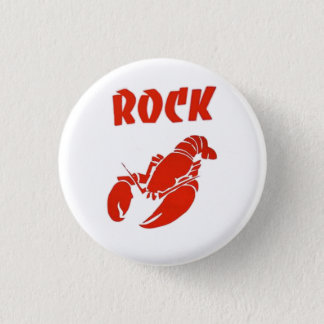 Rock Lobster 1 Inch Round Button