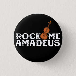 Rock Me Amadeus Classical Rock Music Flair Button