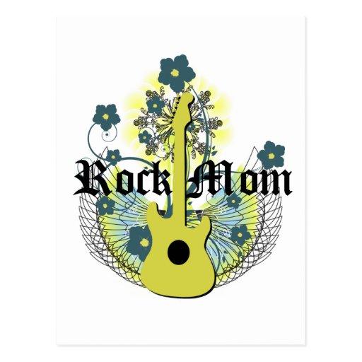 Rock Mom Post Card