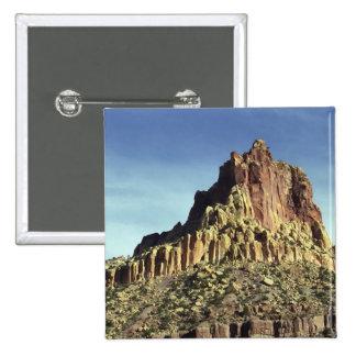 Rock Mountain Summit 2 Inch Square Button