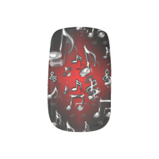 Rock Music Minx Nail Art