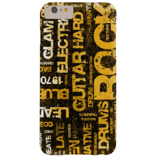 Rock Music Party Invitation as Poster Art Barely There iPhone 6 Plus Case