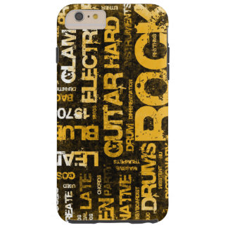 Rock Music Party Invitation as Poster Art Tough iPhone 6 Plus Case