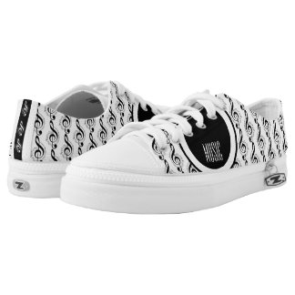 Rock My World | Guitar/Musical Notes Low-Top Sneakers