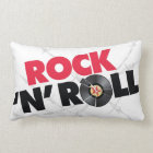 Rock N Roll 2 Sided Pillow