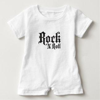 """""""Rock N Roll"""" Baby Romper"""