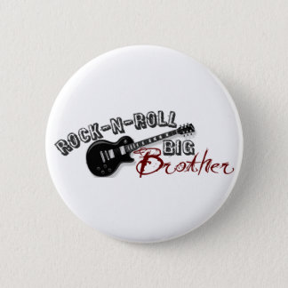 Rock-n-Roll Big Brother 2 Inch Round Button