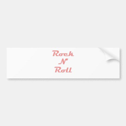 Rock N Roll! Bumper Stickers