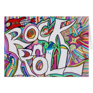 rock n roll card