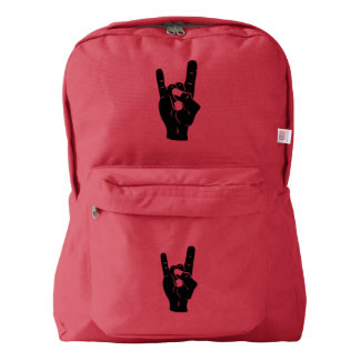Rock n Roll Devil Horns Backpack