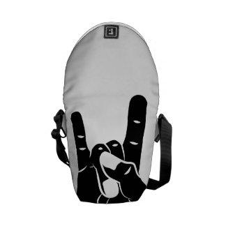 Rock n Roll Devil Horns Commuter Bag