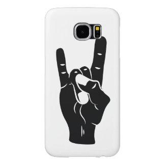 Rock n Roll Devil Horns Samsung Galaxy S6 Cases
